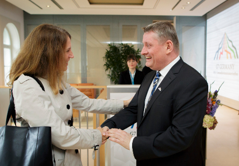 Photo: Federal Minister of Health Hermann Gröhe with his counterpart from the USA Sylvia Burwell