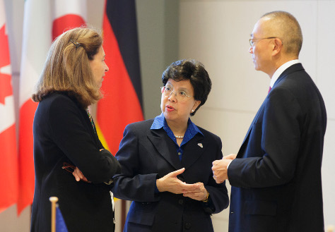 Photo: The WHO's Director-General Dr Margaret Chan