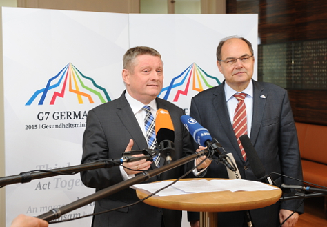 Photo: Statement of Hermann Gröhe and Christian Schmidt, Federal Minister of Food and Agriculture