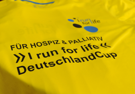 "Foto: T-Shirt ""I run for life"""