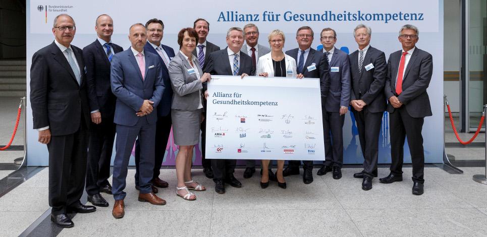 """Gründung der """"Allianz für Gesundheitskompetenz"""