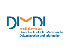 Logo: German Institute for Medical Documentation and Information (DIMDI)